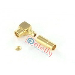MMCX (F) R/A Connector for RG316 Cable