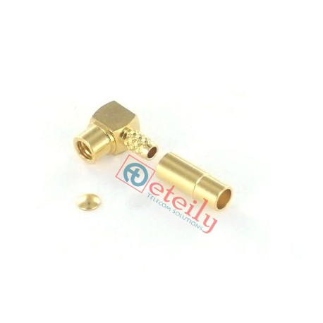 MMCX (F) R/A Connector for RG316 Cable - Eteily Technologies