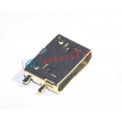 Gold plating MINI HDMI Female Socket C Type SMT 0.8mm