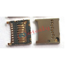 Micro SD Card Connector Push Pull Type