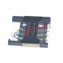 Sim Card Holder 6 Pin Push Pull Type