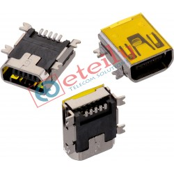 Mini USB AB Type Female