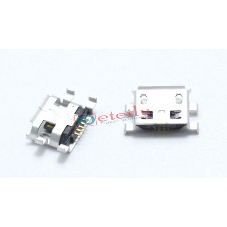 Micro Mini USB B type 5pin Female Connector For Mobile Phone