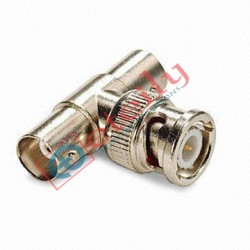 BNC  T  Type Adaptor Female-Male-Female