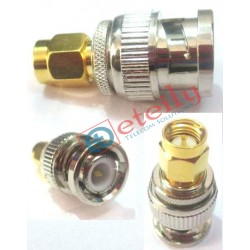 BNC Male To SMA Male Adaptor
