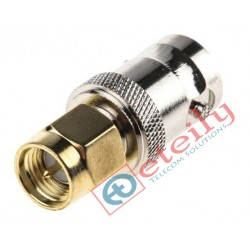 BNC(F) to SMA(M) RF Adapter