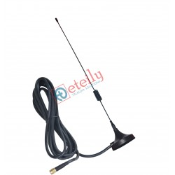 Wi-Fi 5dBi Spring Magnetic Antenna with RG58 Cable | SMA Male Connector