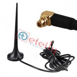 3G 3dBi Magnetic Mount Antenna with MMCX R/A Connector