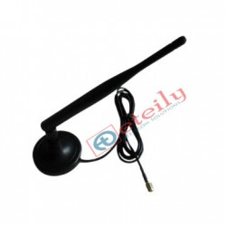 3G 5dBi Rubber Magnetic Antenna with RG174 Cable | SMA Male Connector